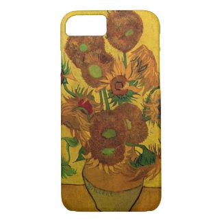 Van Gogh Fine Art Flowers, Vase with 15 Sunflowers iPhone 7 Case