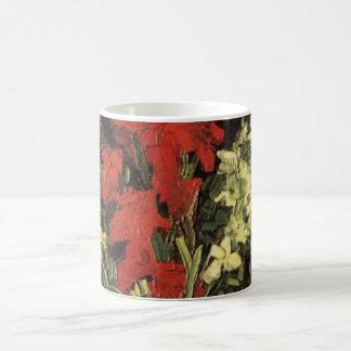 Van Gogh Fine Art Vase with Gladioli and Carnation Coffee Mug