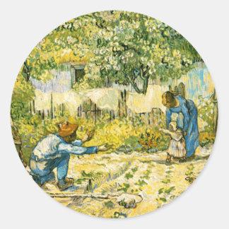Van Gogh First Steps Sticker