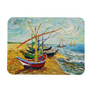 Van Gogh Fishing Boats Magnet