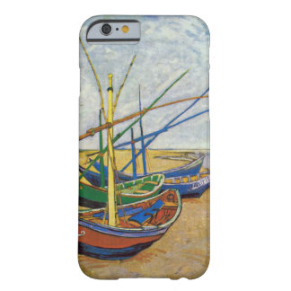 Van Gogh Fishing Boats On The Beach Barely There iPhone 6 Case