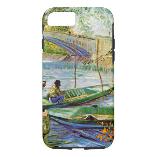 Van Gogh - Fishing in the Spring iPhone 7 Case