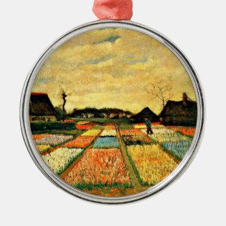 Van Gogh - Flower Beds in Holland Metal Ornament