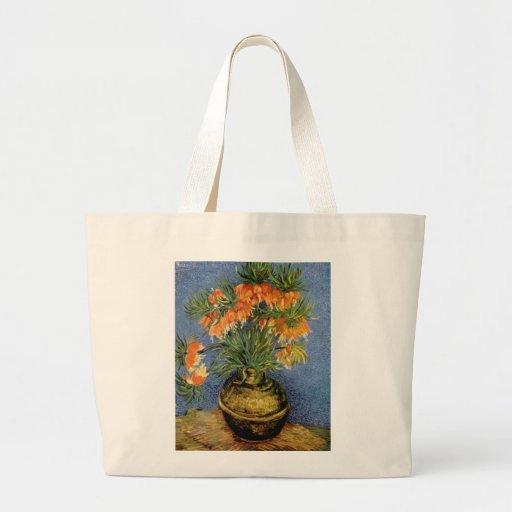 Van Gogh flower painting Bag