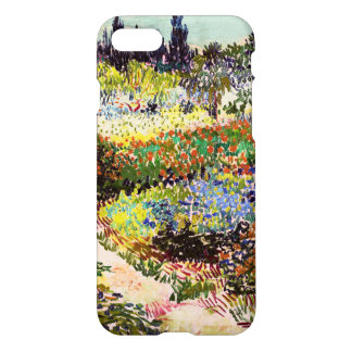 Van Gogh Flowering Garden At Arles Floral Fine Art iPhone 7 Case