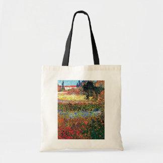 Van Gogh - Flowering Garden Budget Tote Bag