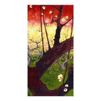 Van Gogh Flowering Plum Tree After Hiroshige Picture Card