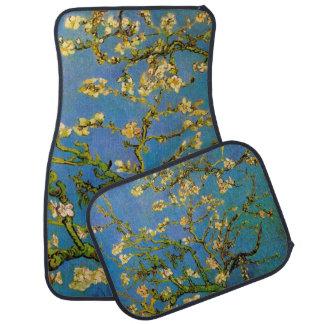 Van Gogh Flowers Art, Blossoming Almond Tree Floor Mat