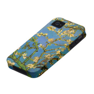 Van Gogh Flowers Art, Blossoming Almond Tree iPhone 4/4S Covers