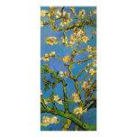 Van Gogh Flowers Art, Blossoming Almond Tree Personalised Rack Card