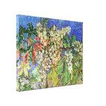 Van Gogh Flowers Art, Blossoming Chestnut Branches