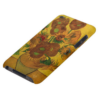 Van Gogh Flowers, Vase with 15 Sunflowers Barely There iPod Covers