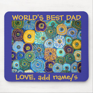 Van Gogh Flowers World's Best Mousepad