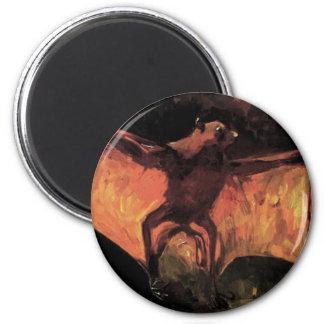 Van Gogh Flying Fox Magnet
