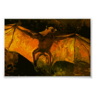 Van Gogh Flying Fox Post-Impressionism Poster