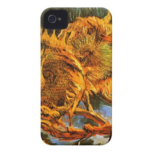 Van Gogh: Four Sunflowers Blackberry Bold Covers