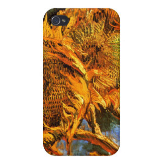 Van Gogh: Four Sunflowers Case For iPhone 4