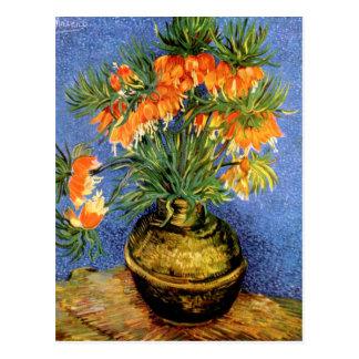 Van Gogh: Fritillarias in Vase Postcard