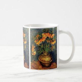 Van Gogh; Fritillaries in a Copper Vase Mug