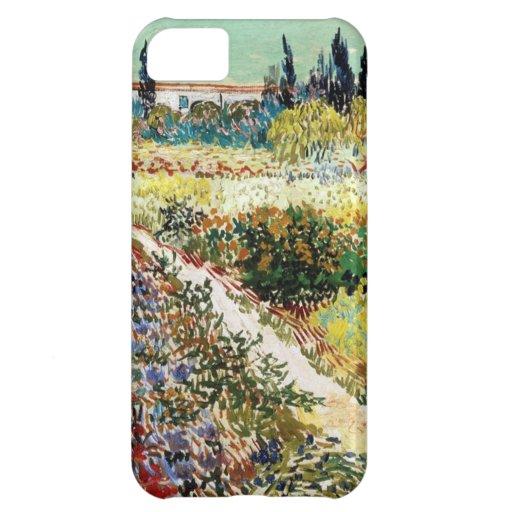 Van Gogh Garden At Arles iPhone 5C Cases
