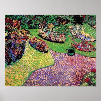 Van Gogh - Garden In Auvers Poster