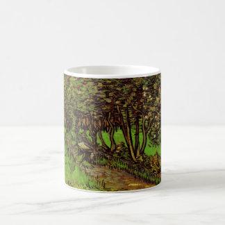Van Gogh Garden of Saint Paul Hospital, Fine Art Coffee Mug