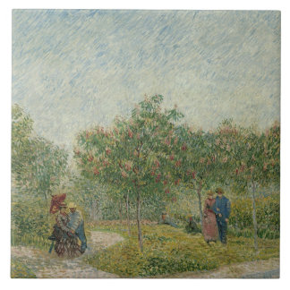 Van Gogh, Garden with lovers, Paris Tile