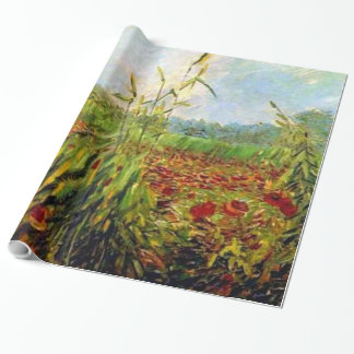 Van Gogh - Green Corn Stalks Wrapping Paper
