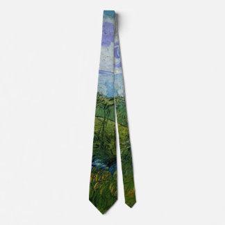 Van Gogh Green Wheat Fields, Vintage Fine Art Tie