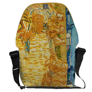 Van Gogh; Harvest in Provence Courier Bags