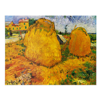 Van Gogh - Haystacks in Provence Postcard