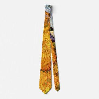Van Gogh Haystacks in Provence, Vintage Fine Art Tie
