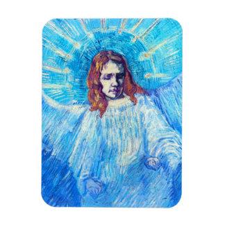 Van Gogh Head of an Angel Magnet