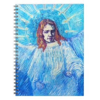 Van Gogh Head of an Angel Notebook