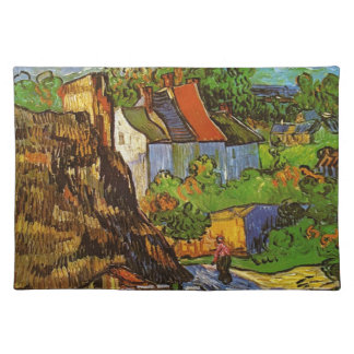 Van Gogh - Houses in Auvers Place Mats