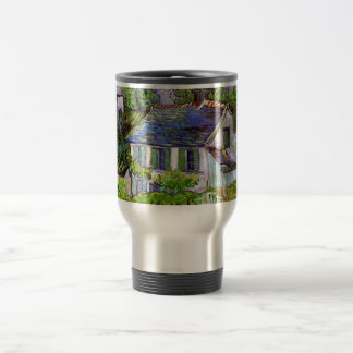 Van Gogh - Houses in Auvers Travel Mug