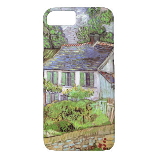Van Gogh Houses in Auvers, Vintage Fine Art iPhone 8/7 Case