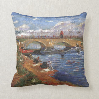 Van Gogh Impressionist Painter Vintage Art Cushion