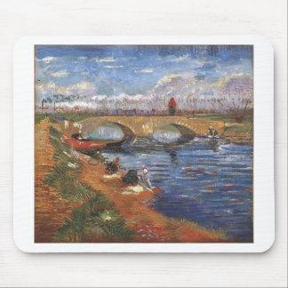 Van Gogh Impressionist Painter Vintage Art Mouse Pad