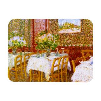 Van Gogh: Interior of a Restaurant Flexible Magnets