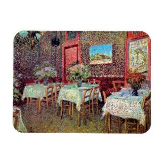 Van Gogh - Interior Of A Restaurant Rectangular Photo Magnet