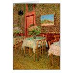 Van Gogh; Interior of a Restaurant, Vintage Art