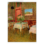 Van Gogh; Interior of a Restaurant, Vintage Art Greeting Cards