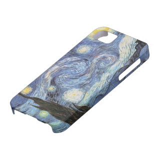 Van gogh iPhone Case Starry Night Impressionist