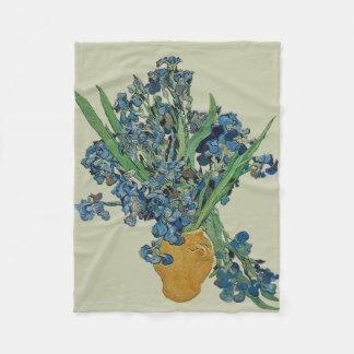 Van Gogh Iris Fleece Blanket