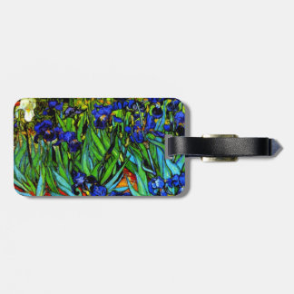 Van Gogh - Irises, 1889 Luggage Tag