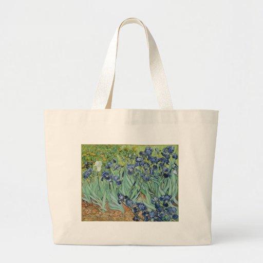 Van Gogh Irises Tote Bags