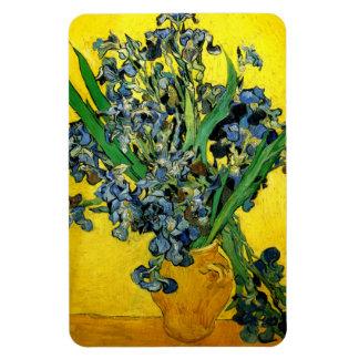 Van Gogh: Irises Rectangle Magnets