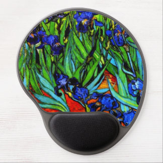 Van Gogh - Irises Gel Mouse Pad