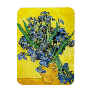 Van Gogh Irises Magnet